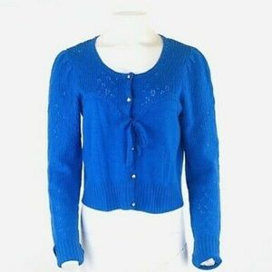 Anthropologie Wool Cashmere Sweater